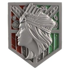 Attack on Titan Wall Rose Magnet
