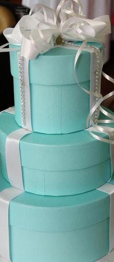 Turquoise & white | Aqua | gift boxes