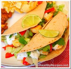 recipes for tacos images   ... Fish Tacos Recipe - How to make Lime Fish Tacos   All Healthy Recipes