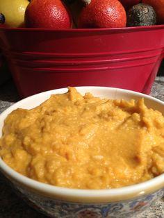 sweet potato/ cauliflower mash
