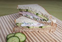 These sandwiches, flavored with herbs and spices, are sure to hit the spot. With whole grains, lean protein, and dairy, this well-rounded, MyPlate meal will keep you satisfied all afternoon.