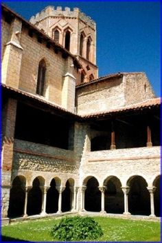 The cloisters of the old church in Saint Lizier are worth a visit The Cloisters, Saints, Old Things, France, Mansions, Architecture, House Styles, Arquitetura, Manor Houses