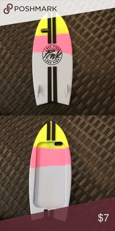 I phone 6/6s case Victoria secret surf board case PINK Victoria's Secret Accessories Phone Cases
