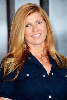 Connie Britton-we were seriously talking about her amazing hair color yesterday. Perfection!