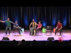 ▶ Os Barbixas - Improvável - Escolinha Improvável (Fábio Lins, Rodrigo Arijon e Daniel Tauszig) - YouTube