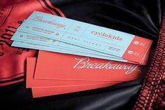 Cycle Kids Breakaway Event Branding by Bluerock Design – Inspiration Grid Graphic Design Layouts, Graphic Design Typography, Graphic Design Inspiration, Design Ideas, Layout Inspiration, Design Concepts, Creative Inspiration, Layout Design, Ticket Design