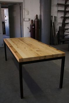 TABELA Recycled timber Dining table by FunkTastik on Etsy