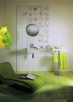 piastrelle ceramiche linea Primavera Colore, designer Tord Boontje.