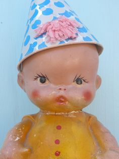 chalkware doll Oh, How I wanted one of these from the Illinois State Fair every year!! (still wanting)