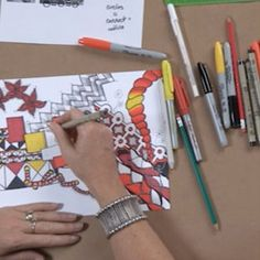 When it comes to doodle art, drawing your own patterns is an exciting way to build a piece of art that comes wholly from your experiences.