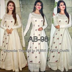 Bollywood Designer Party Wear Ethnic Lehenga Choli Saree Wedding Silk New Long Gown Dress, The Dress, Dress Formal, Dress Indian Style, Indian Outfits, Indian Wear, Indian Attire, Lehenga Gown, Anarkali Suits