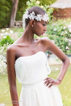 headband mariage, bijoux de tête mariage Vanessa M
