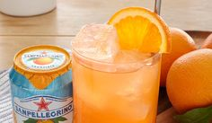Perfect as an aperitif, Riviera Fizz is an inviting, delicate cocktail made with aranciata Sanpellegrino and Aperol. Ideal for serving with finger food.