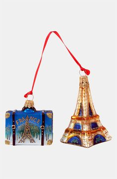 Celebrate Paris with this France Ornament Set - Ornament Reviews