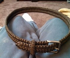 Learn one knot and repeat over and over, until you've made a whole belt!