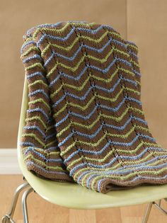 22 Free Knit Afghan Patterns + 3 New Baby Blanket Patterns - JUST UPDATED!