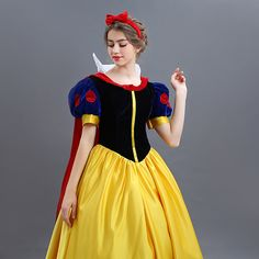 Vestido de blancanieves dibujo