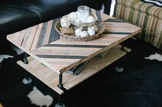 Ariele Alasko Inspired DIY Coffee Table | Flickr - Photo Sharing!