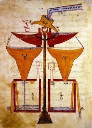 al-jazari book of ingenious mechanical devices -  water balance