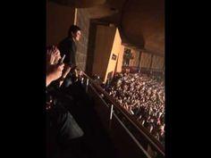 Sergio Moro no show do Capital Inicial em Curitiba