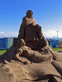 Sand Sculptures in Weston-super-Mare | Flickr - Photo Sharing!