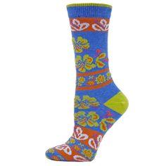 B Ella Blooms Womens Cotton Crew Sock   eBay