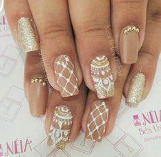 Creative Nail Designs, Creative Nails, Nail Polish Designs, Nail Art Designs, Hooded Eye Makeup, Birthday Nails, Ring Finger, Nail Arts, Cute Nails