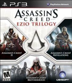 Assassins Creed: Ezio Trilogy - Playstation 3 www.videogamestore.info #PS3