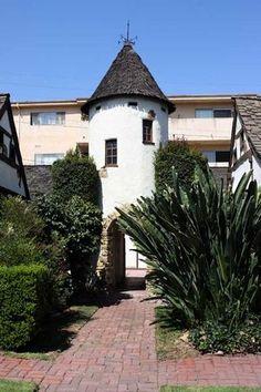 Los Feliz's Snow White storybook cottage court, built in 1926 as Walt Disney's original animation studio.