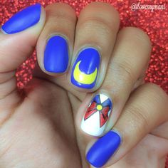 Nerdy Nail Art – Sailor Moon, Batman, Minions, Harry Potter |
