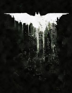 Dark Knight Rises by David Sharp, via Behance