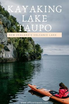 Kayaking Lake Taupo