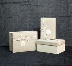 Tris Scatole (disponibile in forma quadrata e rettangolare)