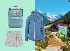 Wer im Urlaub in die Berge fährt, lässt vielleicht die schlechte Luft, aber nicht die Lust auf schöne Outfits daheim. Hier unsere 5 Summer Essentials.