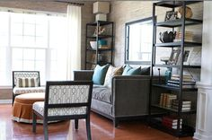 TG interiors: Bookcases in the Living Room