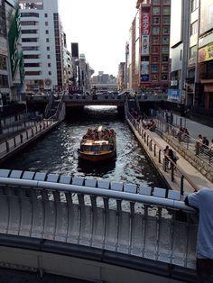 心斎橋、難波、道頓堀 Osaka, Travel, Viajes, Trips, Traveling, Tourism, Vacations