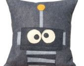 Robot pillow! This one awesome girl made me some of these