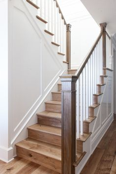 1930s colonial revival traditional staircase same for Hardwood floors on stairs