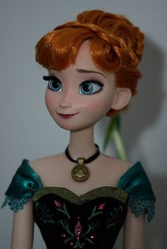 Disney Limited Edition Anna OOAk doll by Lulemee, via Flickr