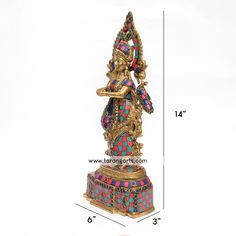Buy wide range of brass idols and statues of Hindu gods, ideal for your puja room also finds metal figurines for decorating your home at Tarangarts.com. Metal Figurines, Puja Room, Brass Statues, Tanjore Painting, Painting Gallery, Decorating Your Home, Sculptures, Idol, Range