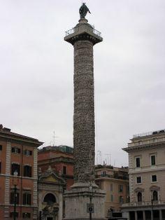 Coluna de Marco Aurélio - Roma