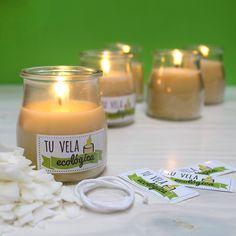 Cómo hacer una vela ecológica: hoy os mostraremos cómo preparar una vela con aceite usado reciclado. Entra y aprende cómo preparar estas bonitas velas.