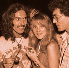 George & young Stevie Nicks.. Cute picture! ♡