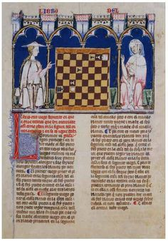 Alfonso X Book of Games. 98f