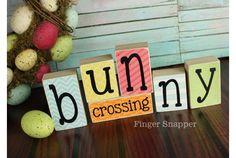 Bunny Crossing blocks