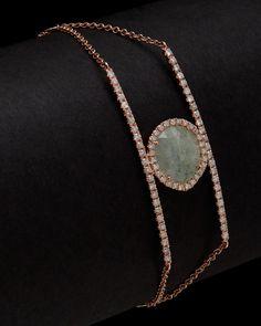 Meira T 14K 3.69 ct. tw. Diamond & Aqua Bracelet is on Rue. Shop it now.