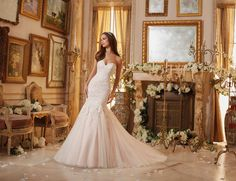 Shop Morilee's Embroidered Lace Appliqués on Soft Tulle Morilee Bridal Wedding Dress. Wedding Dresses and Bridal Gowns by Morilee designed by Madeline Gardner. Embroidered Lace Appliques on Soft Tulle Mori Lee Bridal Wedding Dress Mori Lee Bridal, Mori Lee Wedding Dress, Lace Wedding Dress, Stunning Wedding Dresses, Wedding Dresses Plus Size, Tulle Wedding, Bridal Wedding Dresses, Wedding Dress Styles, Designer Wedding Dresses