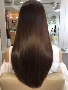 57 Cool dark brown hairstyles color with hairstyle . Brown Hair Cuts, Brown Hair Looks, Brown Hair Shades, Brown Hair With Highlights, Peekaboo Highlights, Brunette Highlights, Purple Highlights, Long Brown Hair, Brown Blonde Hair