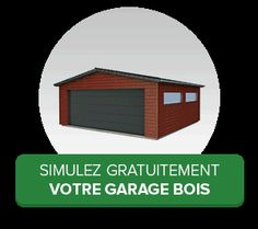 Simuler votre garage bois Garage Double, Kit, Mirror, Home Decor, Detached Garage, Shed Houses, Projects, Decoration Home, Room Decor