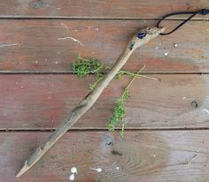 Excited to share the latest addition to my #etsy shop: Driftwood Wicca Wand. Pagan. Wicca. Spells. Wand. #beachcombed #wicca #pagan #wand #driftwood #seaglass https://etsy.me/2wtqUrd